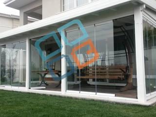 Jardines de invierno de estilo  de GNC Ahşap Tasarım Orman Ürn. Mimarlık ve Peyzaj San. Tic Ltd. Şti., Moderno