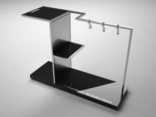 Espositore Scarpe e Stivali Scervino Spazi commerciali moderni di Un-real Studio Associato Moderno
