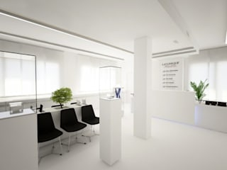 Franchising LaCLINIQUE Lugano Spazi commerciali moderni di Un-real Studio Associato Moderno
