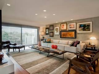 Elmor Arquitetura Ruang Keluarga Modern