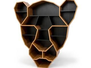 Estante Onça:  tropical por Maiora Design Furniture,Tropical