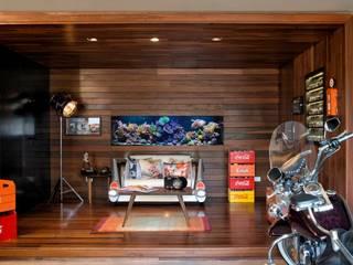 Salones de estilo moderno de Elmor Arquitetura Moderno