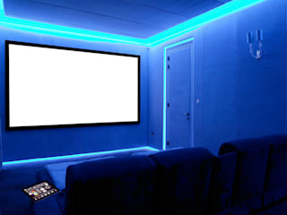 Bespoke Home Cinema:  Media room by Prestigeaudio - Smart Home Designers