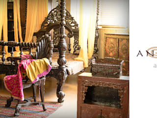 Anthaus - Camera da letto: Camera da letto in stile in stile Asiatico di Anthaus