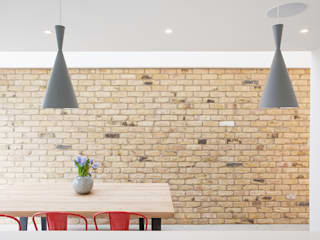 Another Brick in the Wall, 2015 TAS Architects Minimalist walls & floors
