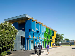Longford Community School - New Library Modern schools by Jonathan Clark Architects Modern