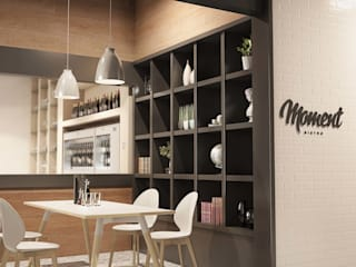 Moment Italian Café:   by Gresham Office Furniture