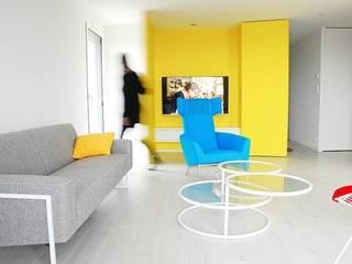 Salas de estar modernas por Martin Gasc Moderno