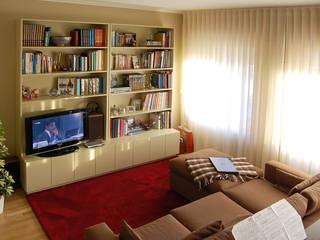 Projecto de decoração de Sala de Estar: Salas de estar  por MOYO Concept