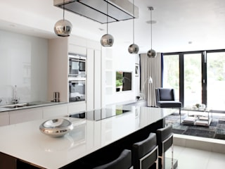 Fulham House by Peek Architecture. Modern style kitchen by Alex Maguire Photography Modern