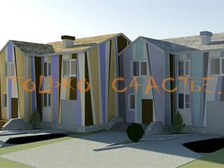 дизайн экстерьера Бюро дизайна 'Только счастье...' Дома в эклектичном стиле
