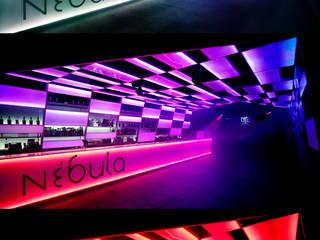 Nébula. Light and Music Bares y clubs de estilo minimalista de 2G.arquitectos Minimalista