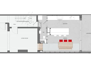 floor plan:   by Thomas & Spiers Architects