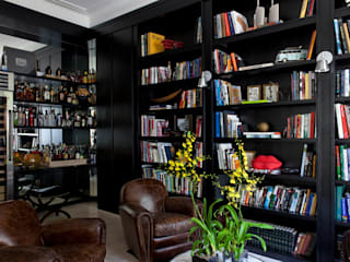 Study/office by CSDA Arquitetura e Interiores, Modern