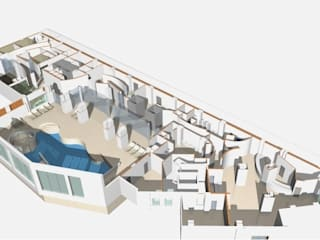 Centro Benessere Hotel moderni di ARCHITETTO GIUSEPPE LODATO Moderno