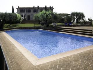 Studio Tecnico Fanucchi Rustic style pool