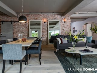 MARIANGEL COGHLAN Industrial style dining room
