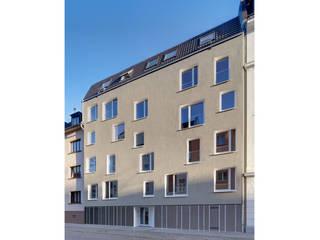 Studentenwohnheim Im Krausfeld: moderne Häuser von Koenigs + Rütter