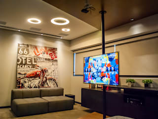 Salones de estilo moderno de Studio Gorski Arquitetura Moderno