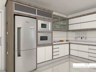 Modern kitchen by A|R DESIGNER DE INTERIORES Modern