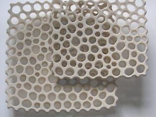 FLÖHR-Schalen Quadrat hell:   von flöhrdesign