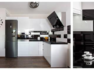 B & W: styl , w kategorii Kuchnia zaprojektowany przez Cobo Design