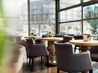 Projekt aranżacji wnętrz kawiarni od Anna Buczny PROJEKTOWANIE WNĘTRZ Klasyczny