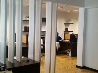 Arquitectura de interiores: Muebles de Oficina de rl.decoarq Moderno