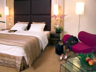 Hotel Radisson BLU pokoje business od Anna Buczny PROJEKTOWANIE WNĘTRZ Nowoczesny