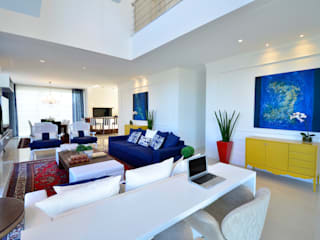 Eclectic style living room by marli lima designer de interiores Eclectic
