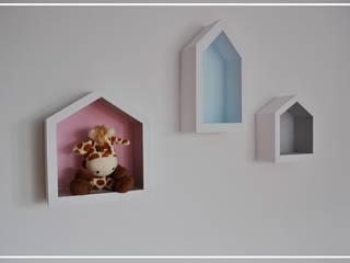 Półko-domki od Zuzu Design Nowoczesny