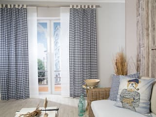 Indes Fuggerhaus Textil GmbH Scandinavian style windows & doors