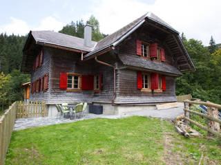 Aussenansicht : moderne Häuser von Mäder + Luder Architekten AG