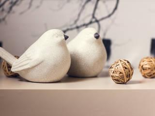 Projekt sypialni od Anna Buczny PROJEKTOWANIE WNĘTRZ Nowoczesny