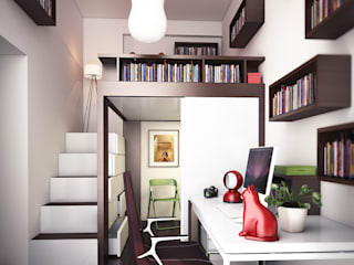 Casa WASLAZEN Camera da letto moderna di rendering4you Moderno