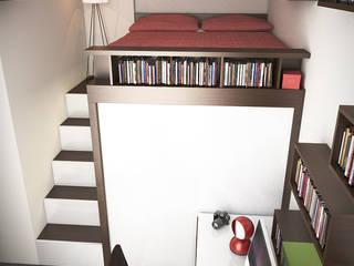 Casa  WASLAZEN: Camera da letto in stile  di rendering4you