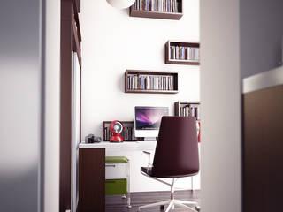 Casa WASLAZEN Studio moderno di rendering4you Moderno