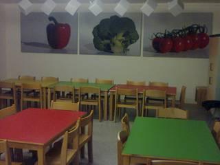 Mittagsbetreuung:  Esszimmer von BK Inneneinrichtung und Raumgestaltung