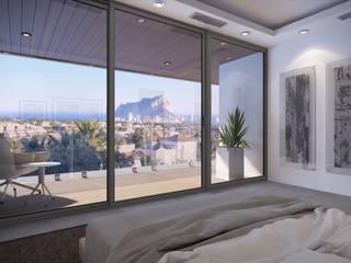 GRAN SOL Costa Blanca Dormitorios de estilo moderno de PGK Studios Moderno