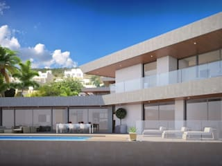 GRAN SOL Costa Blanca Casas de estilo moderno de PGK Studios Moderno