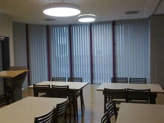 Lamellenanlage im Speisesaal:   von BK Inneneinrichtung und Raumgestaltung