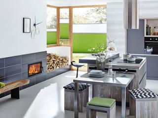 Cocinas de estilo moderno de Spartherm Feuerungstechnik GmbH Moderno
