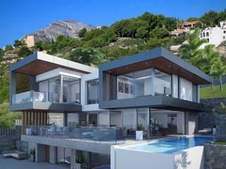 CORONA- COSTA BLANCA Casas de estilo moderno de PGK Studios Moderno