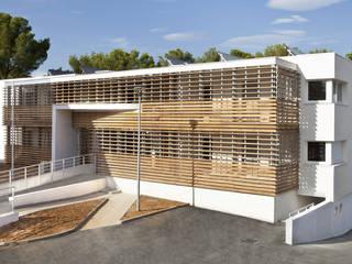 Résidence Georges Charpak, 26 logements sociaux BBC ARCHITECTE NEVIERE