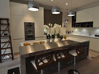 Customer's Finished Kitchen Hampstead Kitchens MutfakDolap & Raflar