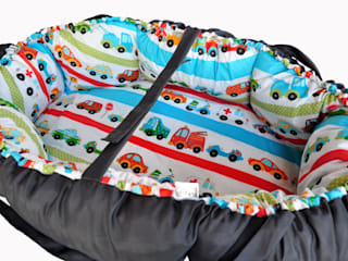 małe gniazda-kokony: styl , w kategorii Pokój dziecięcy zaprojektowany przez Orangeria / Igolo
