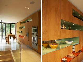 Canonbury House Jonathan Clark Architects Minimalist kitchen
