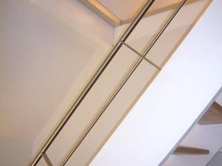 Privathaus Mainz, Ausbau Dachgeschoss Moderner Flur, Diele & Treppenhaus von ketterer innenarchitektur Modern