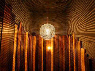 Tinderbox - Islington Jonathan Clark Architects Corridor, hallway & stairsLighting
