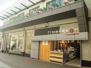 Tinderbox - Islington Jonathan Clark Architects Modern gastronomy